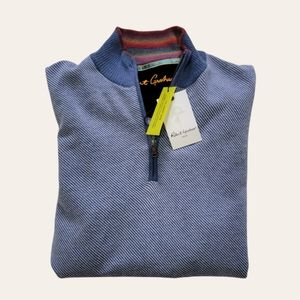 Robert Graham Rhett Quarter Zip Pullover Sweater